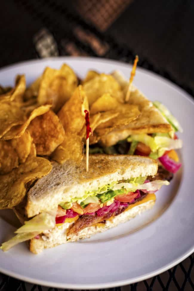 Grilled Redfish Sandwich at Local 463 Ridgeland Mississippi Photograph by Kita Roberts