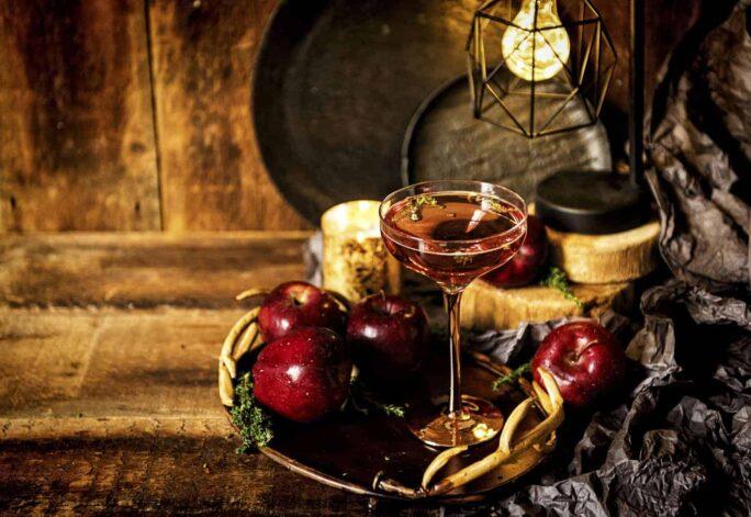 Poison Apple Cocktail | Kita Roberts PassTheSushi.com