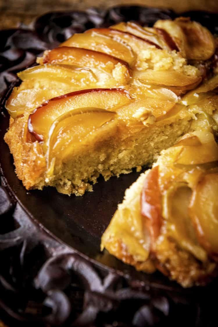Skillet Apple Upside-down Cake | Kita Roberts