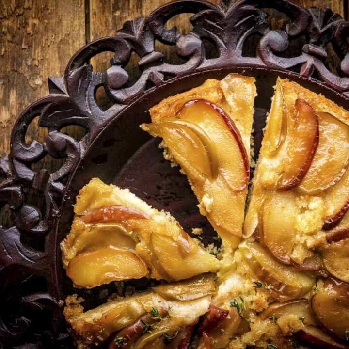 Skillet Apple Upside Down Cake