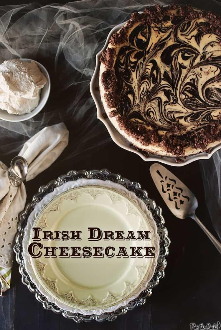 Irish Dream Cheesecake | Kita Roberts PassTheSushi.com