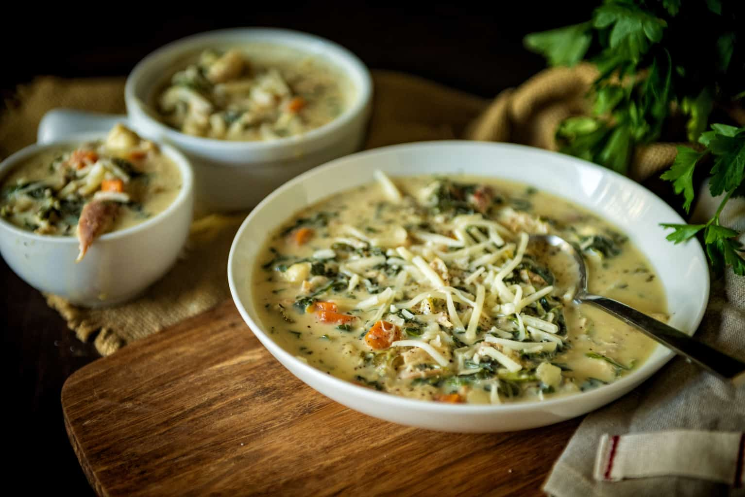 slow cooker chicken gnocchi soup Kita Roberts PassTheSushi