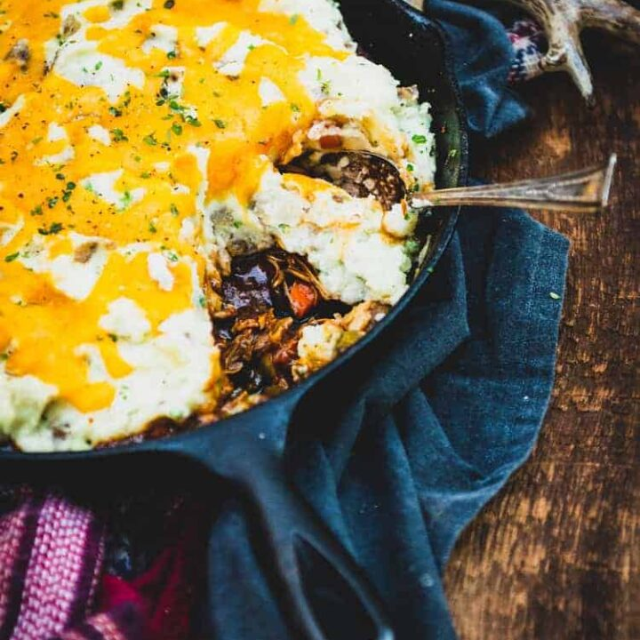 Smoked BBQ Turkey Shepherd's Pie