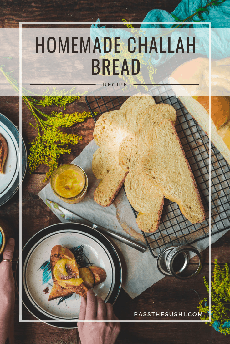There is nothing as comforting as a slice of fresh warm bread. This homemade challah bread recipe walks you through a classic, step by step, and is perfect for a weekend brunch.