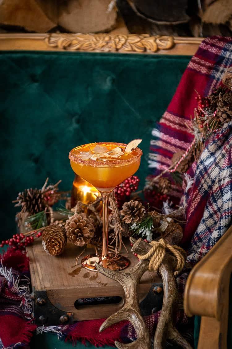 Apple Cider Margaritas Recipe PasstheSushi.com