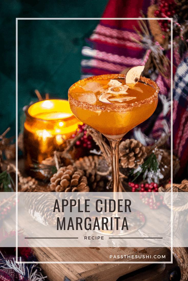 Apple Cider Margarita Cocktail Recipe | Kita Roberts PasstheSushi.com
