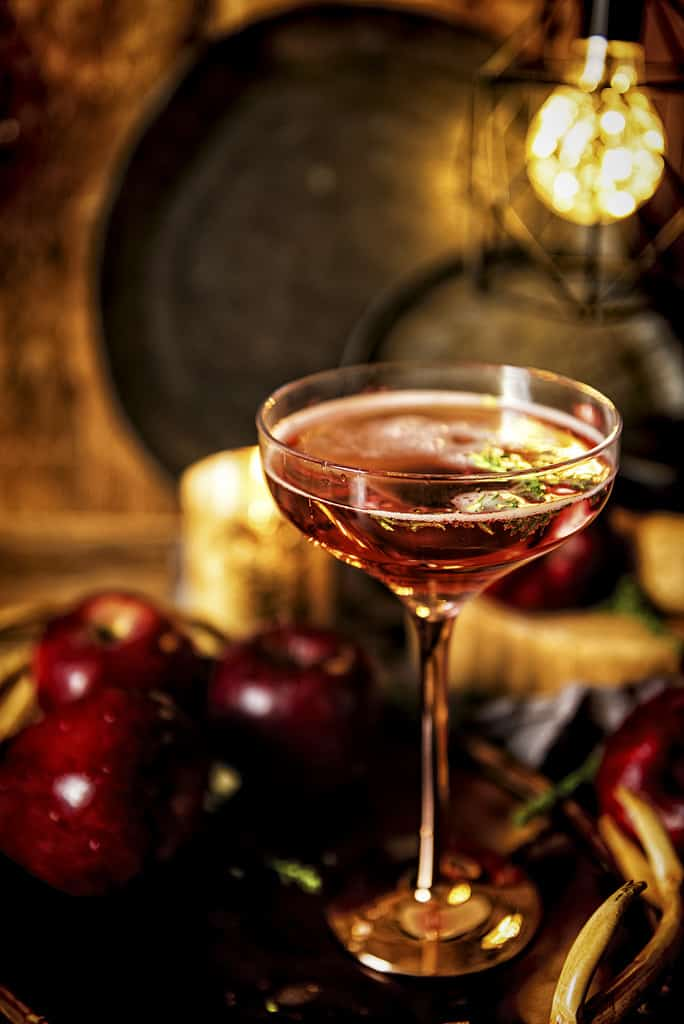 Poison Apple Cocktail Recipe | Kita Roberts PasstheSushi