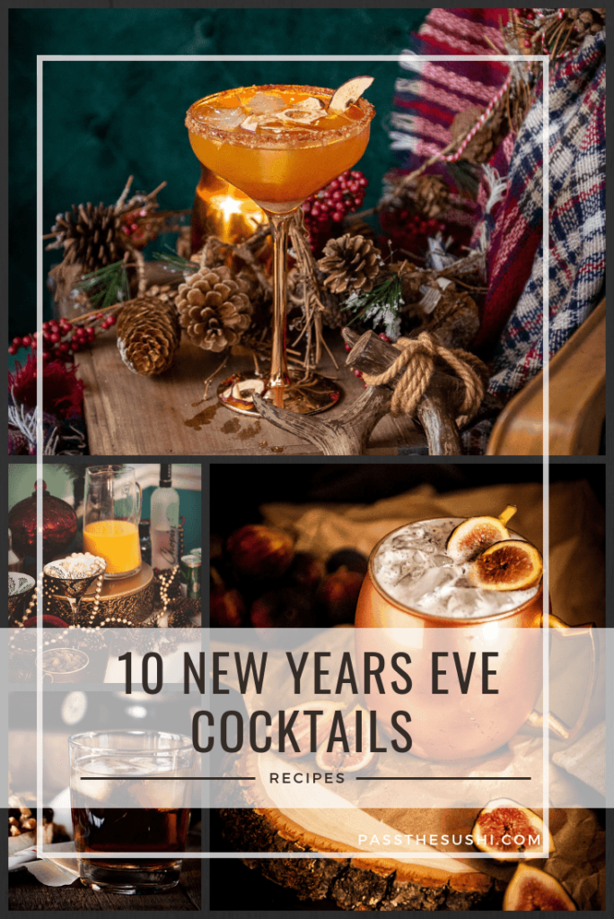 10 cocktails for new years eve