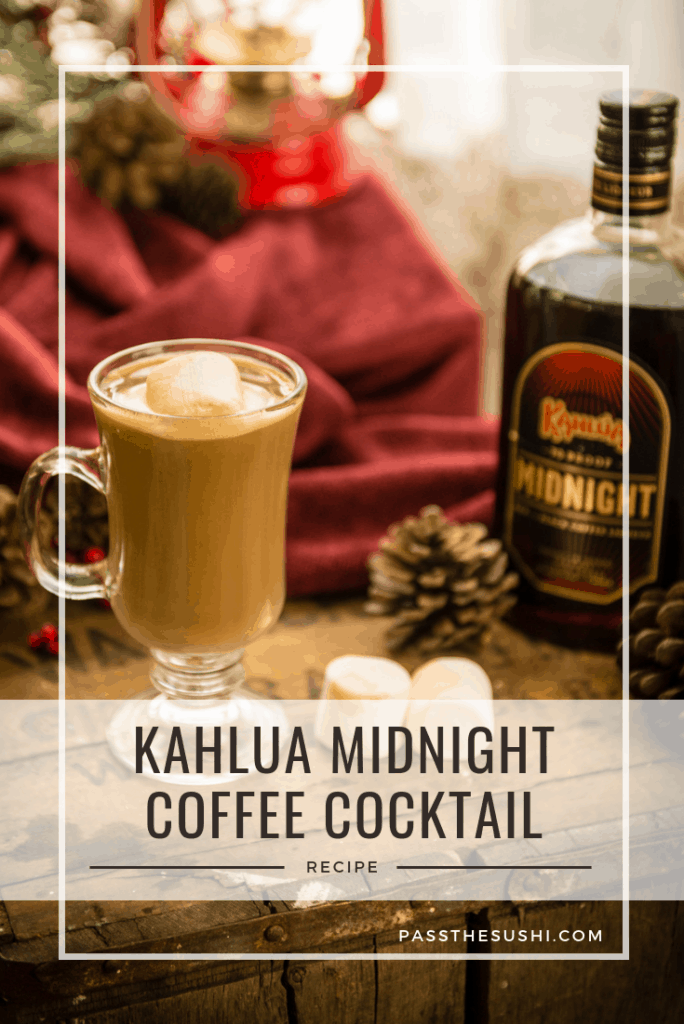 Good things come in three's and that's the case with this delicious creamy Kahlua Midnight cocktail.