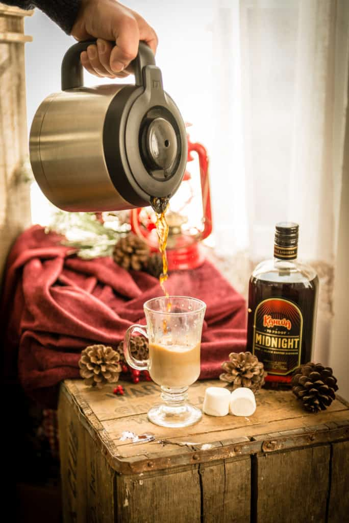 KahluaMidnight Coffee Cocktail Recipe on Kita Roberts PasstheSushi
