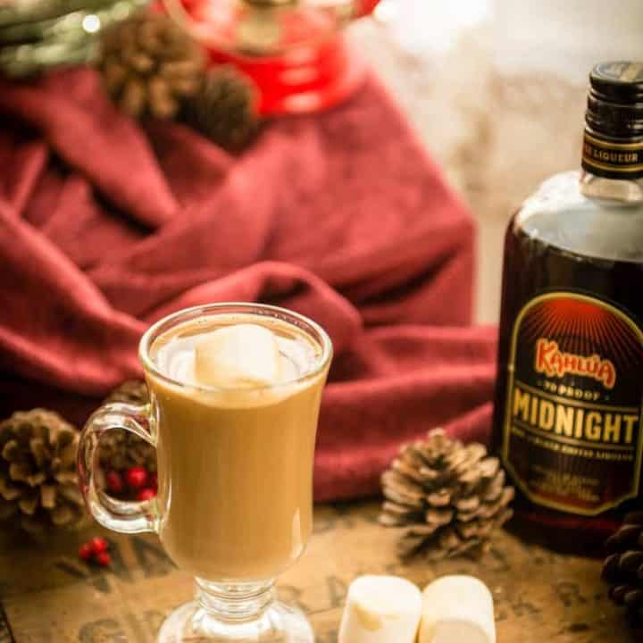 Kahlua Midnight Coffee Cocktail