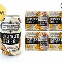 Powell & Mahoney Craft Cocktail Mixers Original Ginger Beer, 12 Ounce Cans (16 Pack) Sparkling Non Alcoholic Craft Cocktail Mixer w/Natural Ingredients Sweetened w/Cane Sugar and Ginger Juice