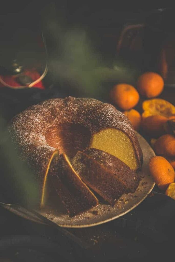 Orange Olive Oil cake Recipe at PasstheSushi.com