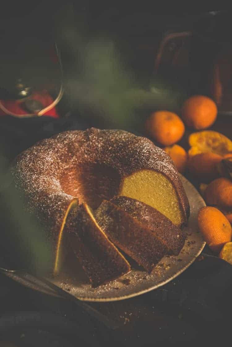 Orange Olive Oil cake Recipe at PasstheSushi.com