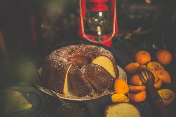 Orange Olive Oil Cake Recipe on PasstheSushi.com