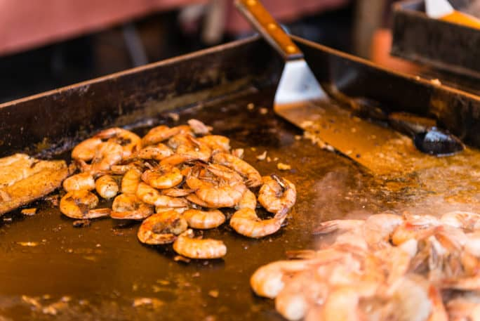 Check out the eats at the Fort Myers Beach Shrimp Festival