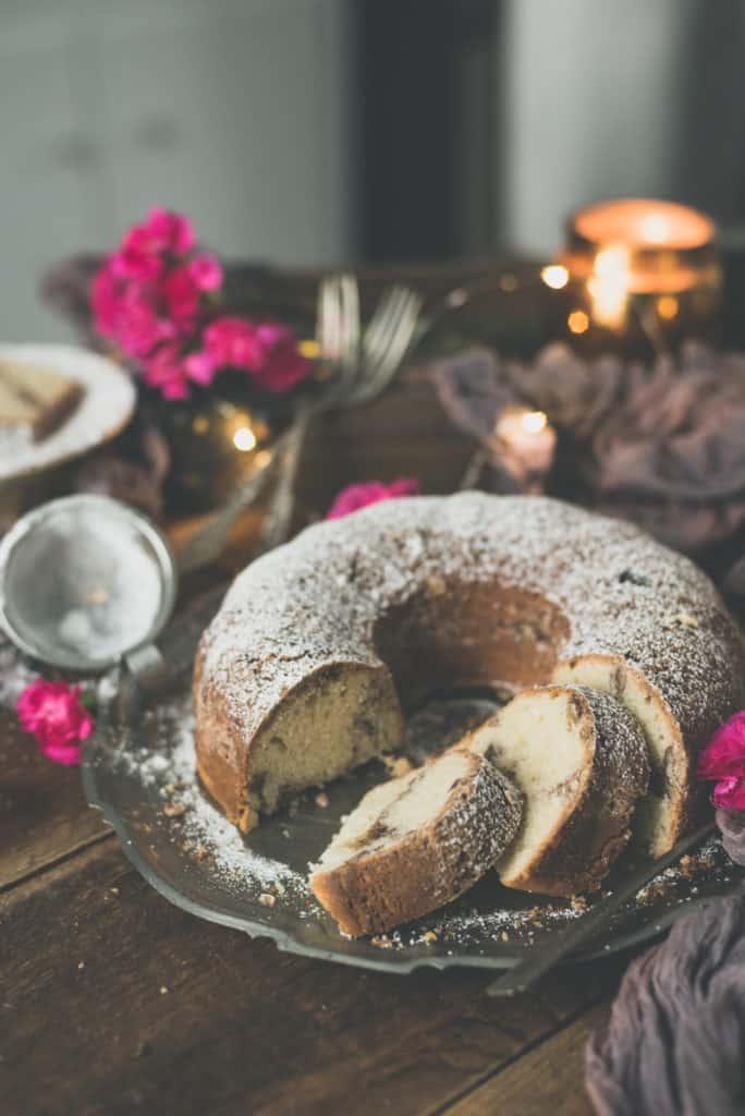 Classic Cream Cheese Coffee Cake | Kita Roberts PassTheSushi.com