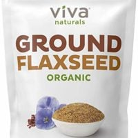 Viva Naturals - The BEST Organic Ground Flax Seed, Proprietary Cold-milled Technology, 30 oz (Packaging May Vary)