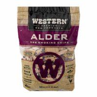 Western Premium BBQ Products Alder BBQ Smoking Chips, 180 cu in