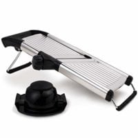 Mandoline Slicer for Home and Professional Use - Vegetable Slicer with Razor Sharp Blades that Do Not Require Maintenance
