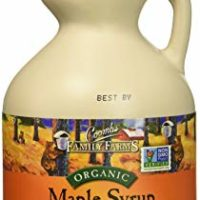 Coombs Family Farms Organic Maple Syrup, Grade A Amber Color, Rich Taste, 16 oz Jug