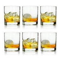 Rock Style Old Fashioned Whiskey Glasses 11 Ounce