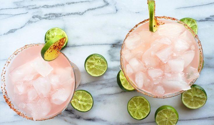 Icy Hibiscus Margarita