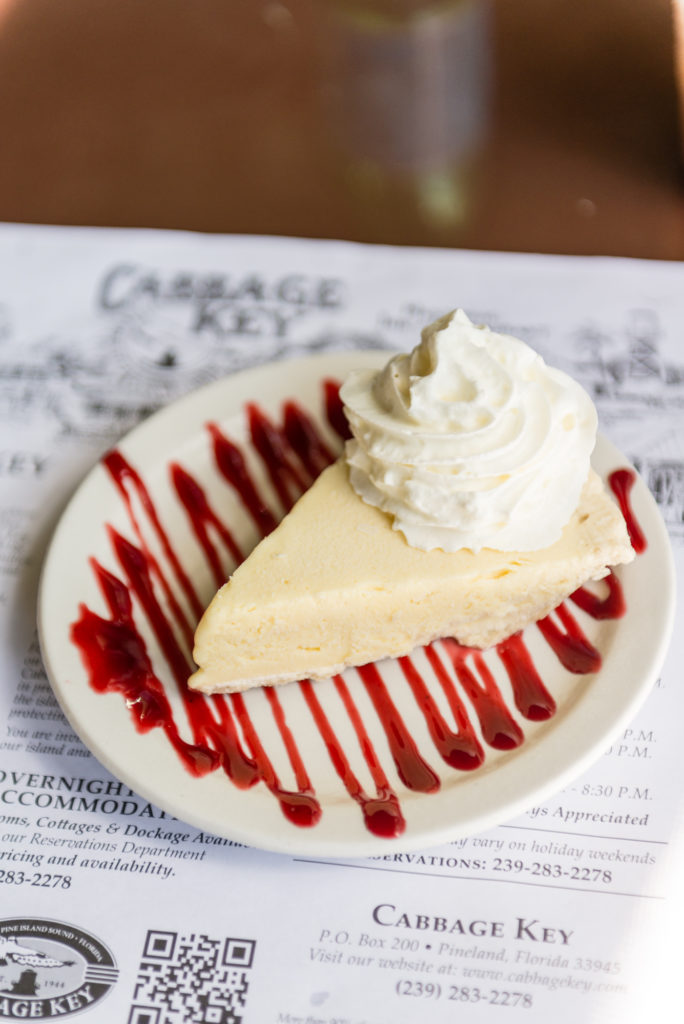 Key Lime Pie at Cabbage Key | What to expect at Cabbage Key