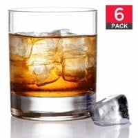 Old Fashioned Whiskey Glass Set, Premium Scotch Glasses, Rocks Style Glassware for Bourbon and Cocktails, Set of 6