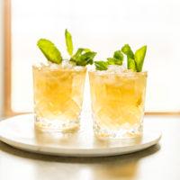 Lemon Mint Julep Cocktail
