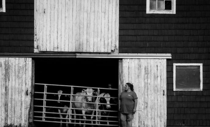 Jenni Tilton-Flood of Flood Brothers Farm - Maine Cabot Farmers