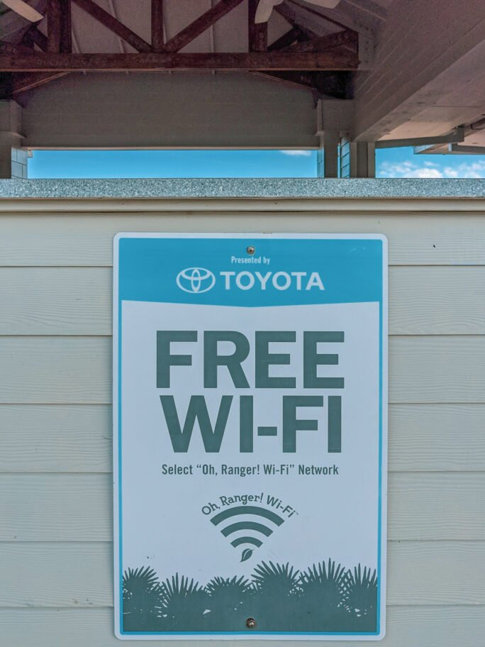 Oh Rnger! Free Wifi at the state parks
