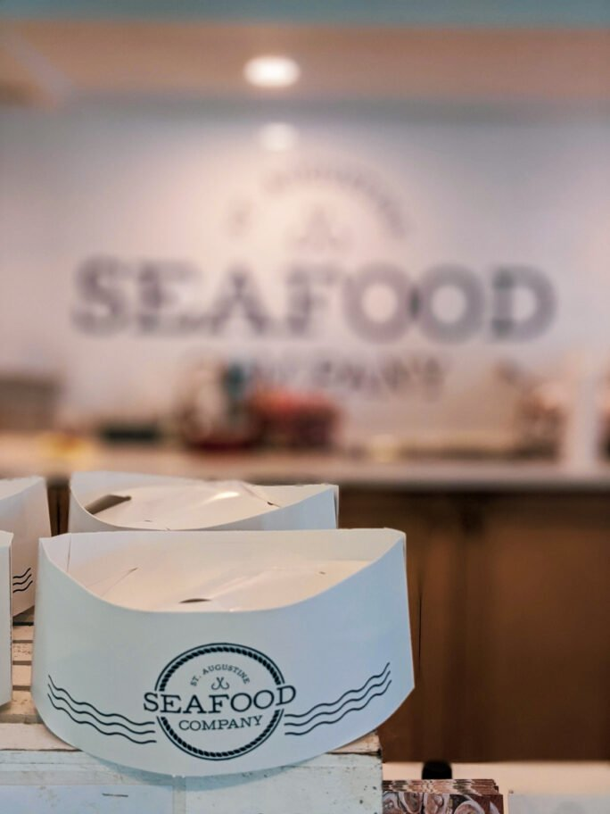 St Augustine Seafood Co prides themselves on fresh local seafood - and batters it up to perfectly delightful bites!