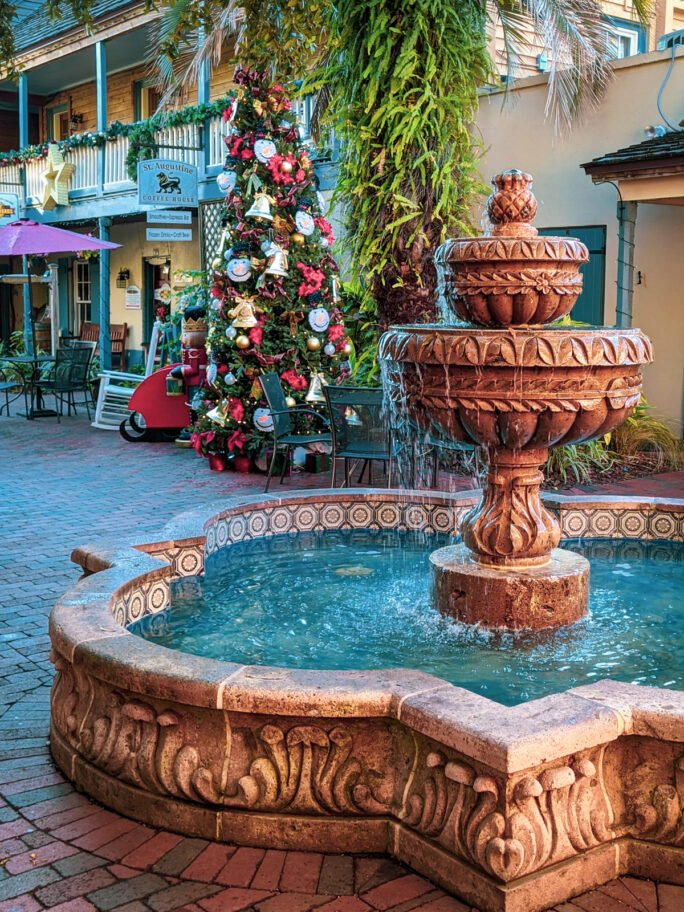 The courtyards and public areas around St Augustine are totally inviting!